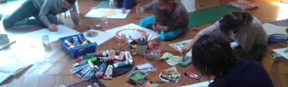 Journée Argile, Peinture, Méditation. 21 mai
