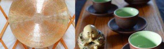 Dégustation de thé et Bain de Gong. Samedi 7 mars à 15h à Dinan.