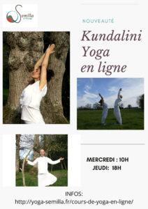 Cours  en ligne de kundalini yoga, meditations, mantras et respirations